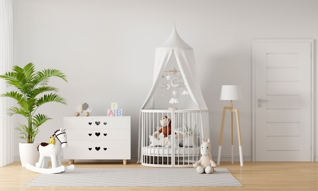Child bedroom interior Premium Photo