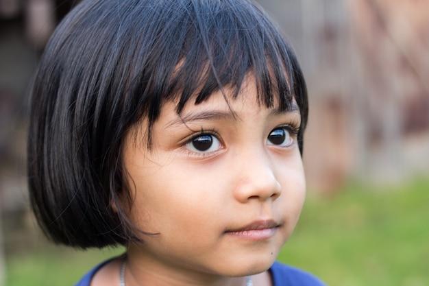Child of thailand Premium Photo