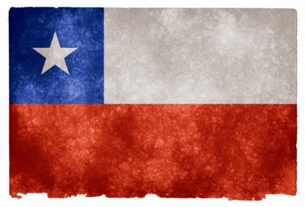 Чили гранж флаг Бесплатные Фотографии