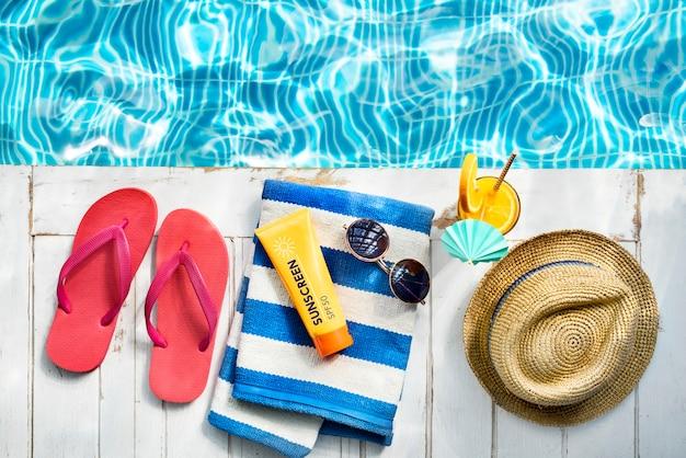 Летняя коллекция chill colorful leisure fresh concept Бесплатные Фотографии
