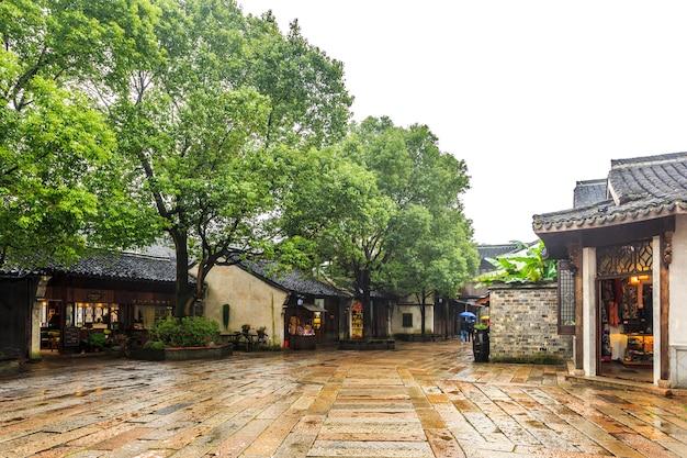 China ancient town, wuzhen Premium Photo