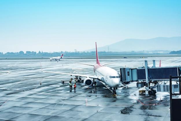 China shanghai airport Premium Photo
