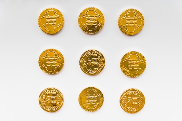 Chinese coins Free Photo