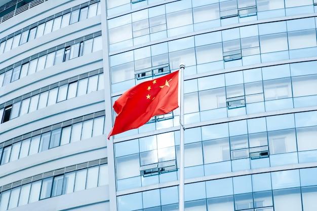 Chinese flag Premium Photo