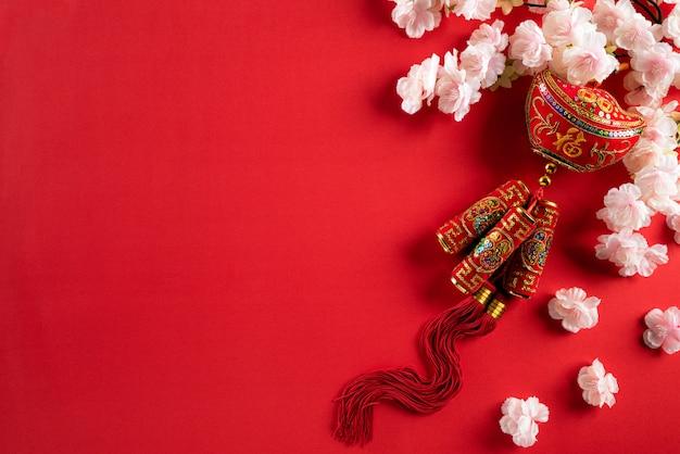 Chinese new year decorations Premium Photo