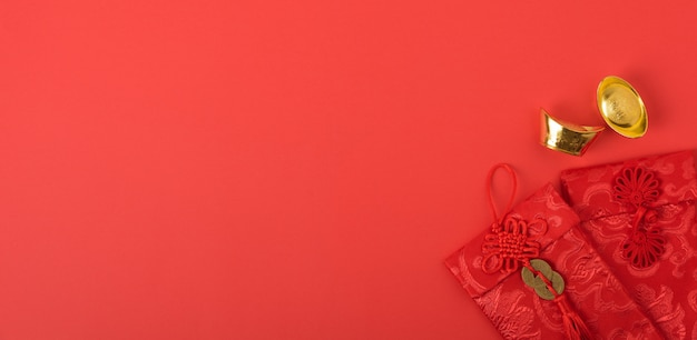 Chinese new year festival concept Premium Photo