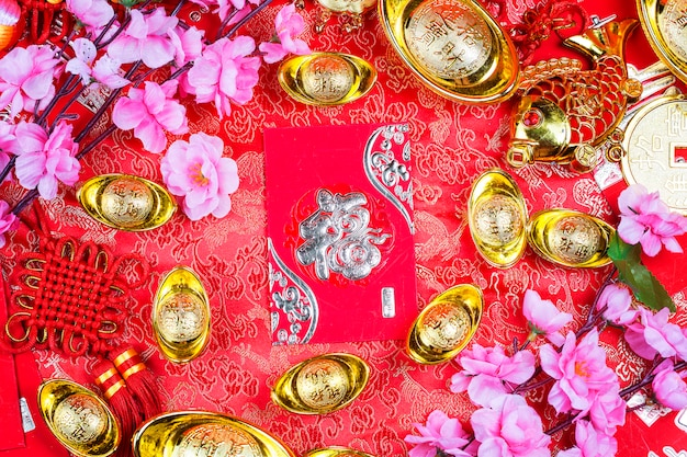 Chinese new year festival decorations Free Photo