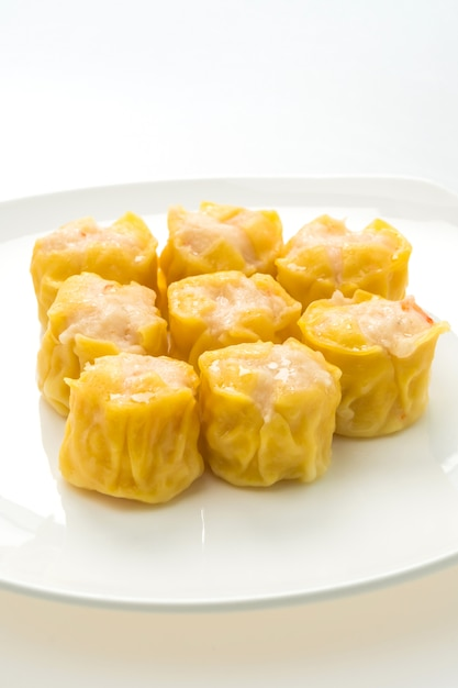 Chinese steamed dumpling Free Photo