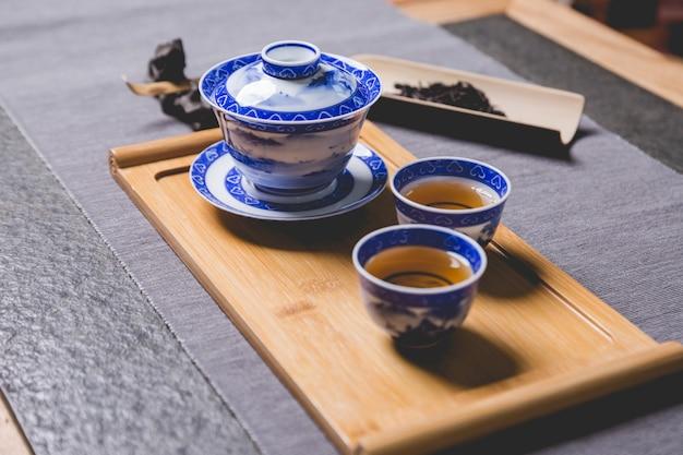 Chinese tea set Free Photo