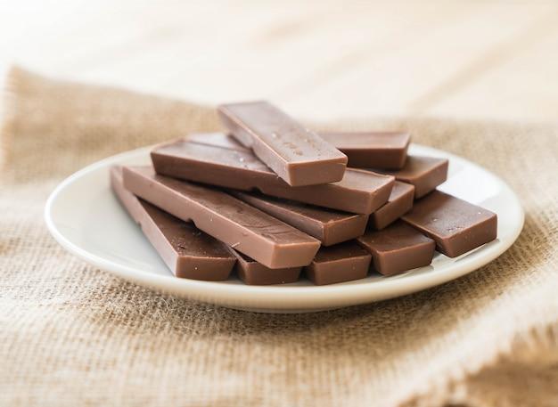 Barras de chocolate Foto gratuita