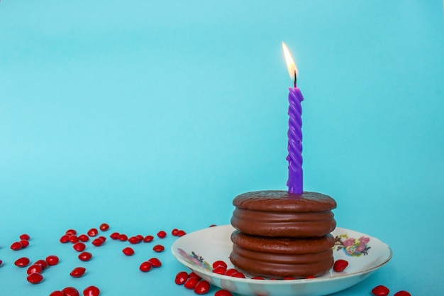 24th Birthday Candle