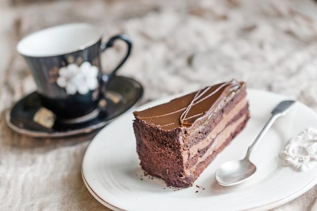 チョコケーキ Premium写真