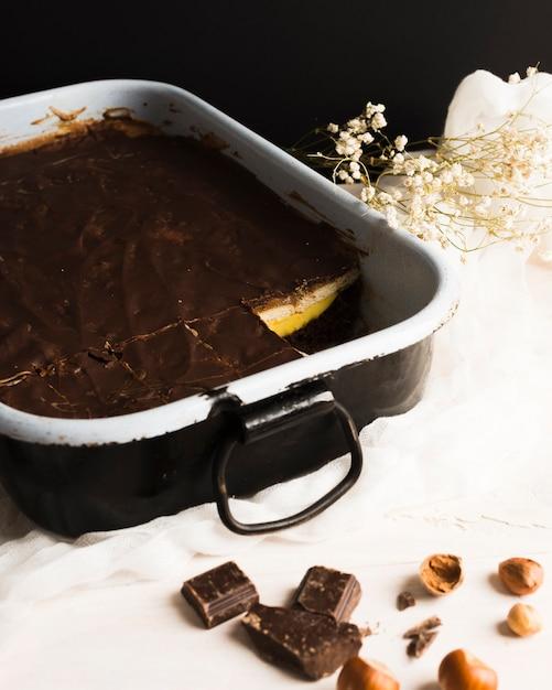 Chocolate cake Free Photo