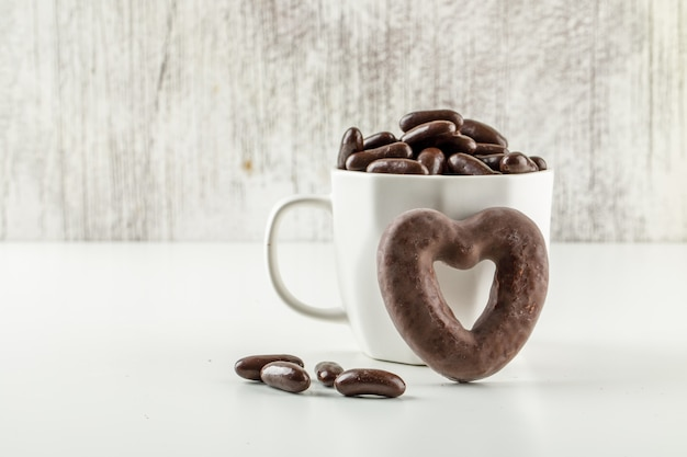 カップのチョコレート菓子 無料写真