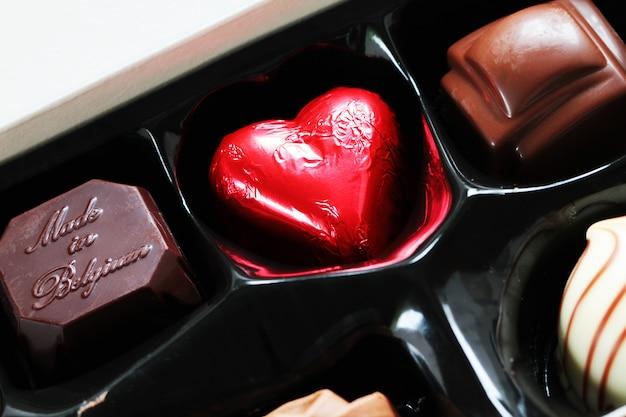 Chocolate candies Premium Photo