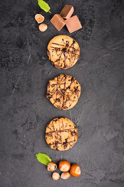 Chocolate cookies Free Photo