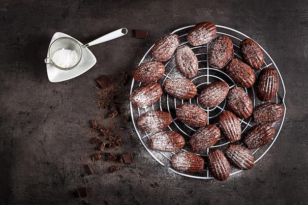 チョコレートクッキー Premium写真