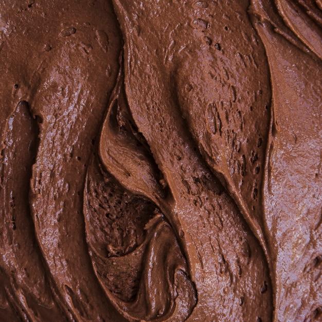 Chocolate ice cream texture Free Photo