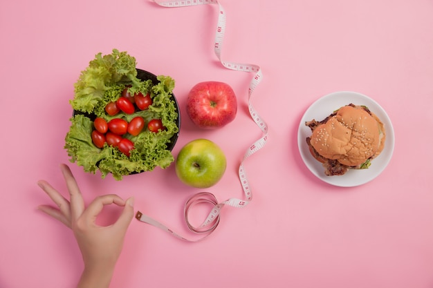 Choose foods that are beneficial to the body Free Photo