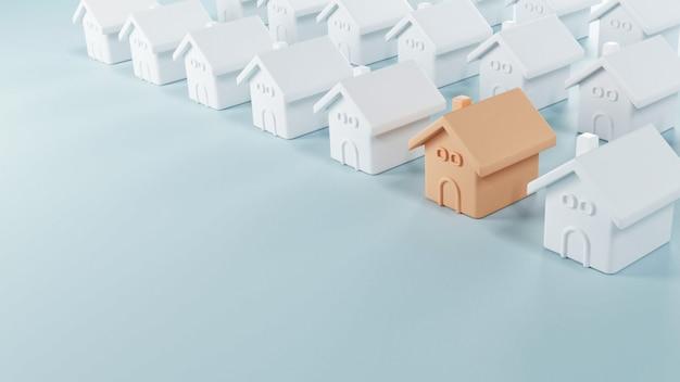 Choosing the best real estate property Premium Photo