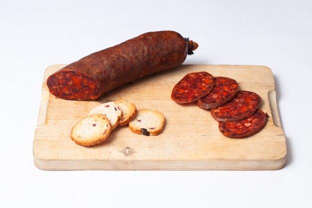 how to use chorizo slices