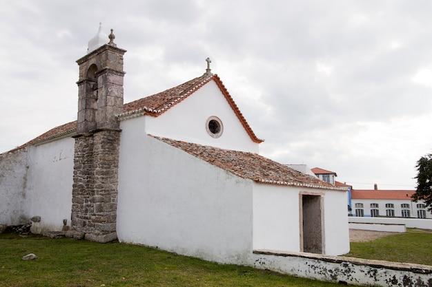 Christian church on odrinhas village Premium Photo