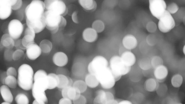 Christmas background with bokeh lights Premium Photo
