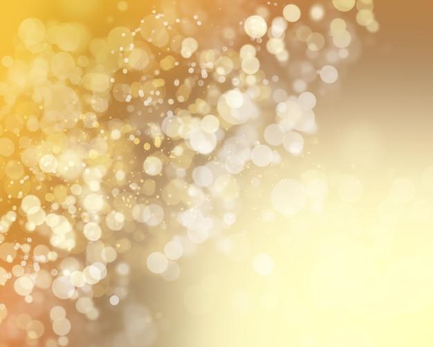 Bokheライトとクリスマスの背景 無料写真