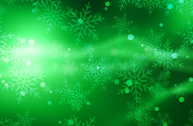 Christmas background with snowflakes Free Photo