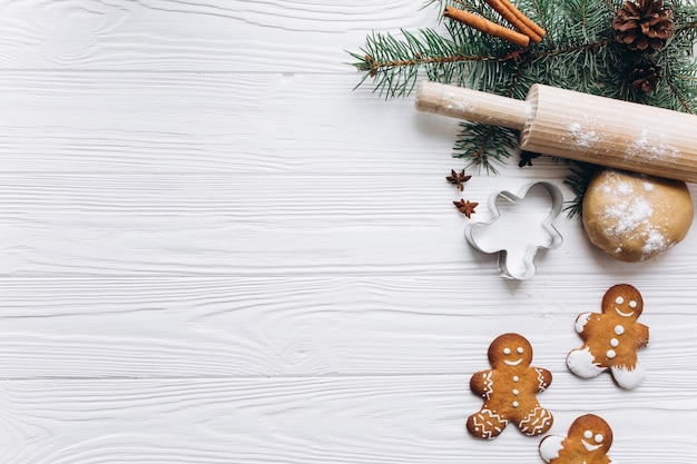 White Wooden Christmas Decorations