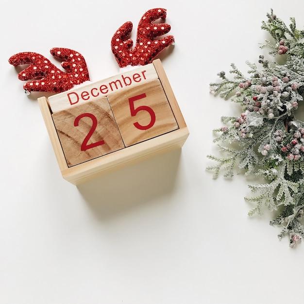 Christmas calendar Premium Photo