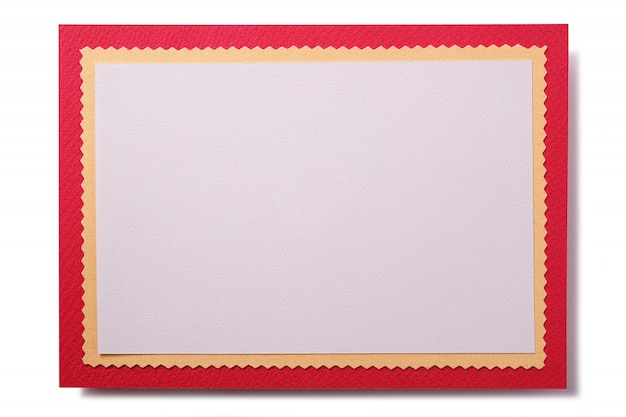 Christmas Card Border.Christmas Card With Red Border Photo Free Download