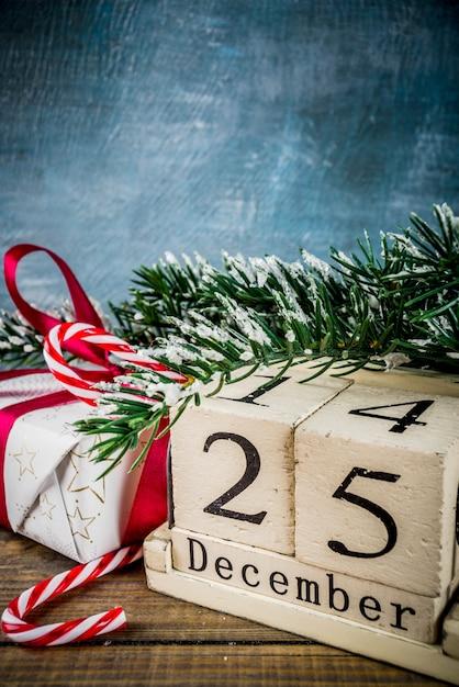 Christmas celebration concept Premium Photo