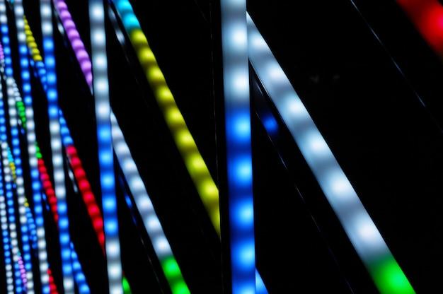 Christmas colorful lights Free Photo