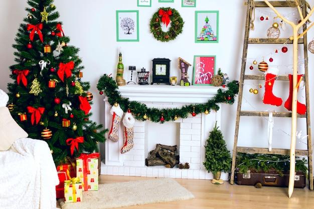 Christmas decor Premium Photo