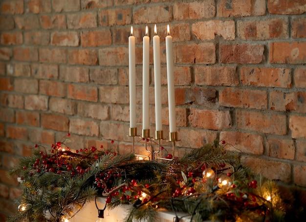 Новогоднее украшение дома Бесплатные Фотографии