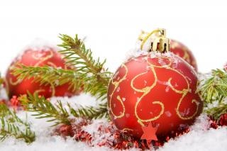 christmas decoration  baubles Free Photo