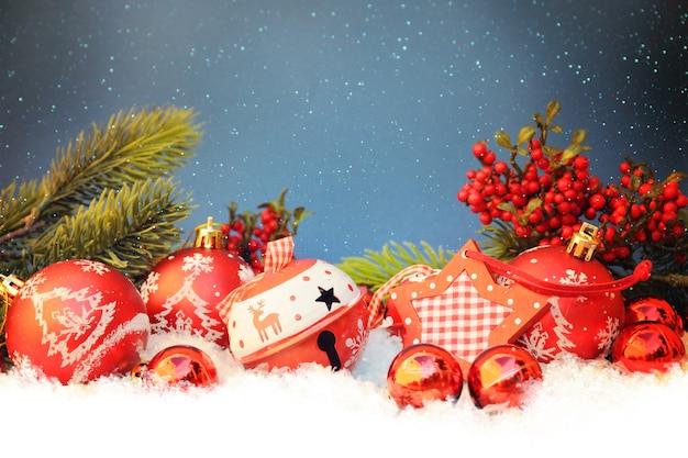 Christmas decoration, family holiday Premium Photo