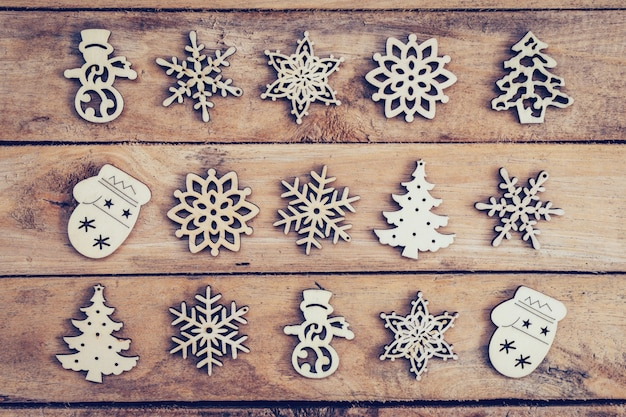 snowflake table decorations.htm christmas decoration with wood snowflake on table with copy space  christmas decoration with wood