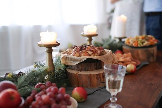 Рождественский ужин Бесплатные Фотографии