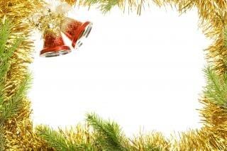 christmas frame holiday border free photo