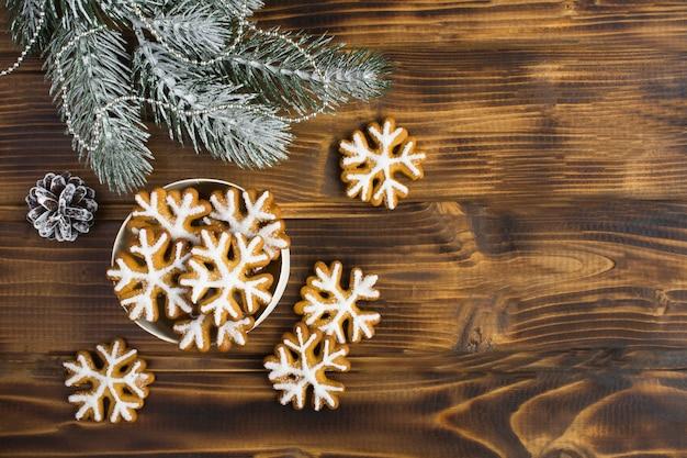 Рождественские пряники Premium Фотографии