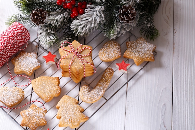 decorated shortbread cookies.htm christmas gingerbread shortbread cookies premium photo  christmas gingerbread shortbread