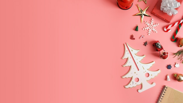 Christmas Holiday Background.Christmas Holiday Background With Gold Ornaments Photo