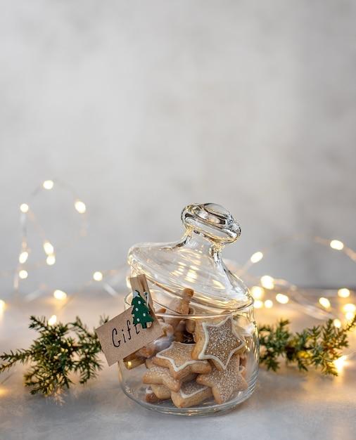 クリスマス自家製クッキー Premium写真