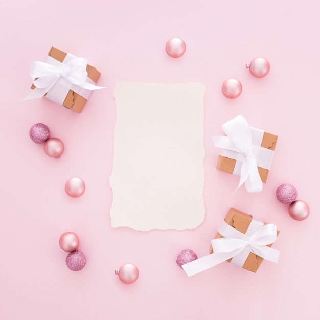 Christmas letter made with hue pink Free Photo