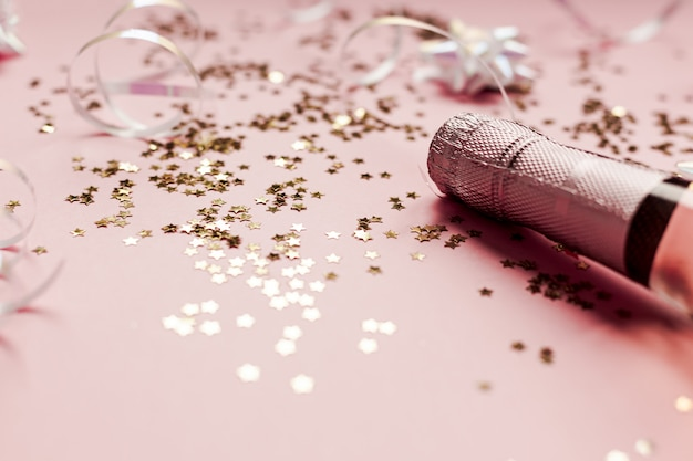 Christmas or new year party celebration concept Premium Photo