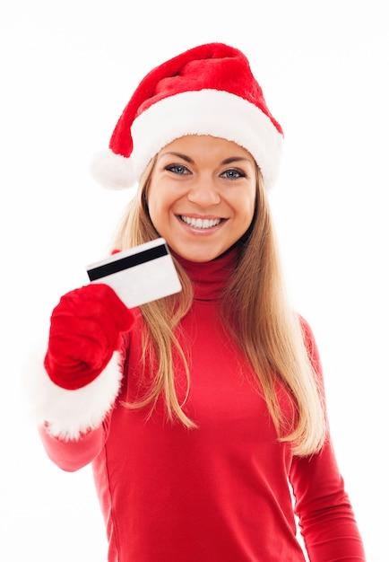 クリスマスショッピング 無料写真