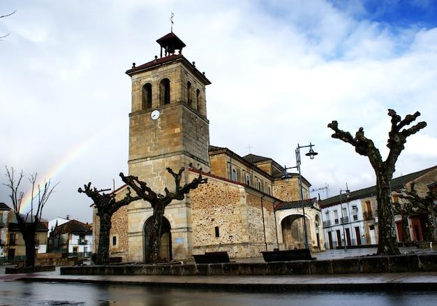 Church of boñar in león spain Premium Photo