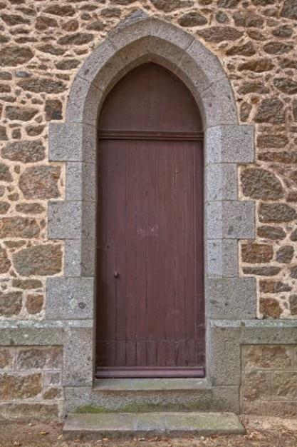 Church door   hdr Free Photo